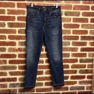 Abercrombie & Fitch ultra high rise jeans